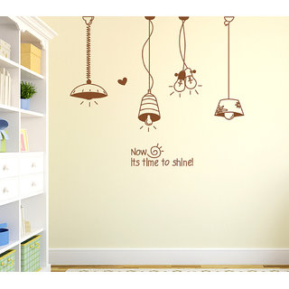Wall Stickers Hanging Light Lamps For Living Room And Home Decor With Vinyl