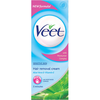 Veet Hair Removal Cream Sensitive Skin, 60 g