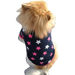 Futaba Puppy Fashion Stars Warm Shirt - XS