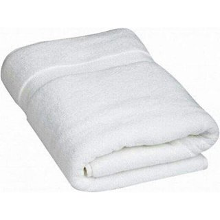 Furnish4Home White Large Bath Towel -70X140