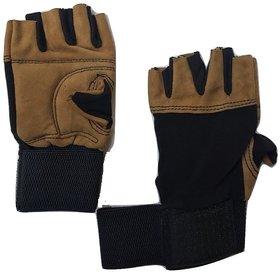 greenbee Fitness Gym Gloves Black Tan N