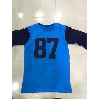 Men's Cotton Henley Full sleeve T Shirts for Men