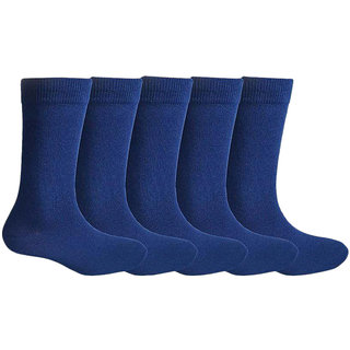 Navy Cotton Blended Sock - Pack of 10 pairs