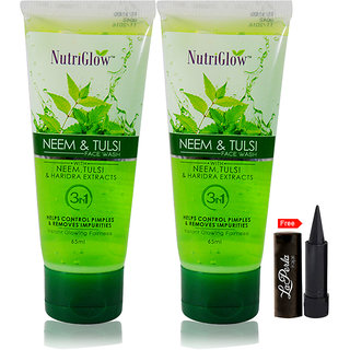 Nutriglow Neem Tulsi Face Wash (Pack Of 2)