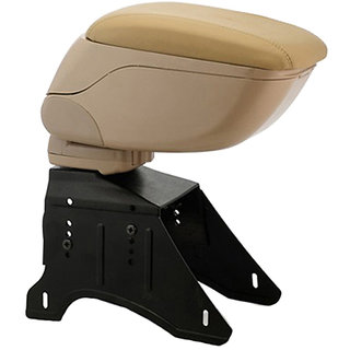 Universal Car Armrest Console (Beige) For all Cars