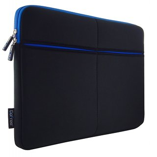 GoFree Slim Line 13 inch Laptop Sleeve for Macbook Air / Pro  Other 13 inch Laptops   3 Additional Pockets   Shock