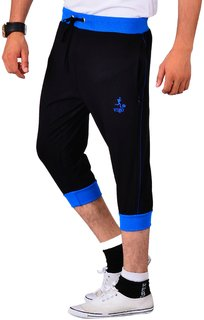 Vego Black Running 34th Pants for Men