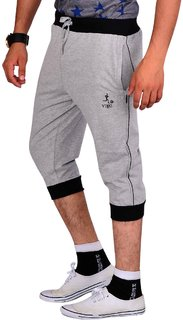Vego Gray Running 34th Pants for Men