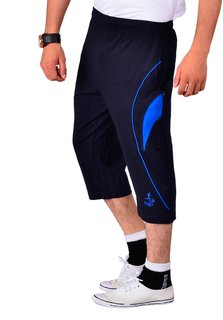Vego Navy Running 34th Pants for Men