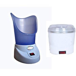 AAbha Automatic cut off wax heater and Facial Sauna Vaporizer