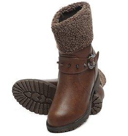 TEN Women's Brown Boots