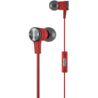 Synchros E10 Headphone with Mic for all Mobile Red and Blue Colour