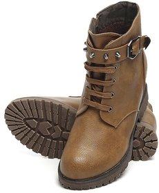 TEN Women's Tan Boots
