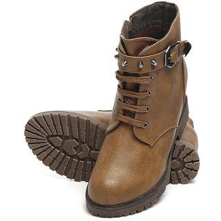 TEN Tan Elegent Leather Boots
