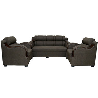 leather sofa set 3+1+1