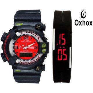 ZAF Combo deal 3 Analog-Digital Watch
