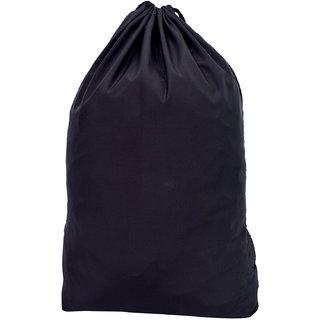 Roadeez 2.5 Litres Plain Black Drawstring Bag (BG-Plain-Black)