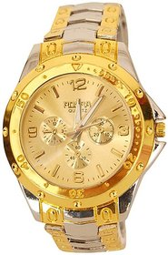 New Rosra Silver Gold Gold Dile Analog Watch For Men