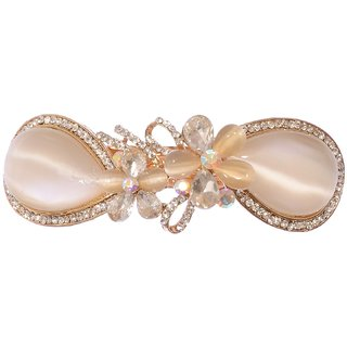 casual wear fancy Golden hair Clip pin accessories for women