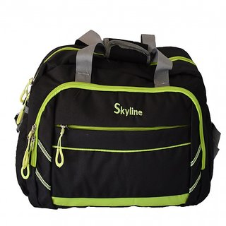 Skyline Traveling Bag-Black-With Warranty-752