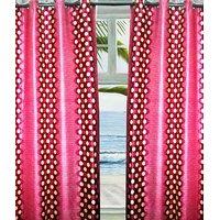 Furnix Printed Eyelet Door Curtain D.No. 6004-1Pc