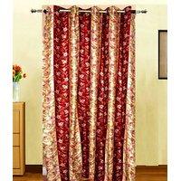 Furnix Printed Eyelet Door Curtain D.No. 2007-1Pc