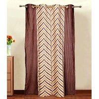 Furnix Printed Eyelet Door Curtain D.No. 2008-1Pc