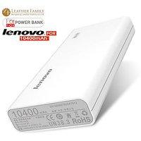 Latest Lenovo 10,400mAh  USB Portable Charger With LED Display For Power Bank - 104174856