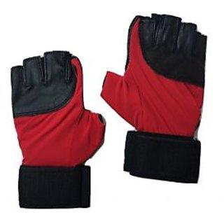greenbee Gym Gloves Black Red AL
