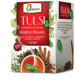 Tulsi Madras Masala Infusion - 20 Tea Bags / Box