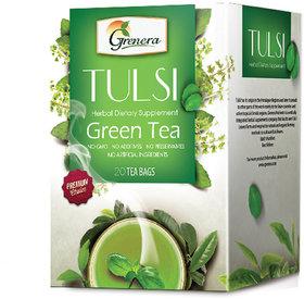 Tulsi Green Tea - 20 Tea Bags / Box