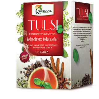 Tulsi Madras Masala Infusion - 20 Tea Bags / Box