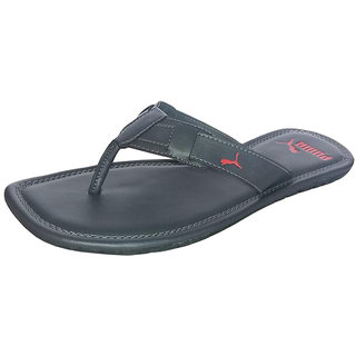 feff4a479f8d Buy Puma Men s Weave DP Black Flip Flops Online   ₹1599 from ShopClues