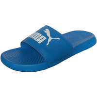 Puma Men's Popcat Blue Slippers