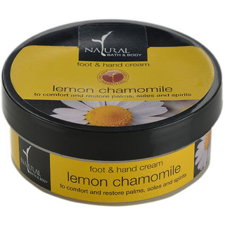 Lemon Chamomile Hand  Foot Cream
