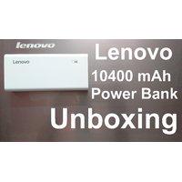 Lenovo 10400 MAh Power Bank Dual USB Charger
