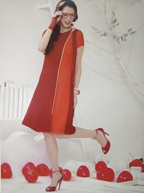 Red Western Dress