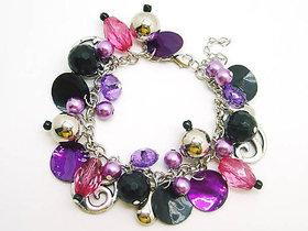 Handicraft Bracelets-glass Beed Bracelets,set of  2