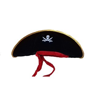 Pirate Hat Black Color Fit To All