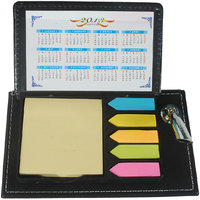 Imported MEMO PAD With Post It Slips With Pen Holder - M10