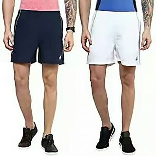 Dinnar fashion black and white shorts combo pack
