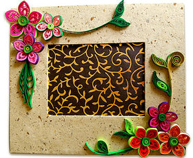 Beautiful Quilling Photo Frame