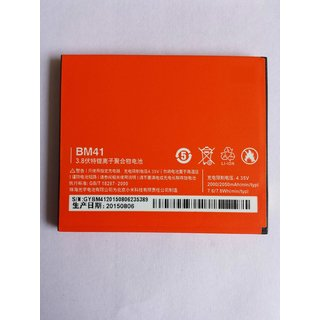 Xiaomi Redmi BM41 2000mAh Battery For Redmi 1S with 6 Months Warranty Genuine Product
