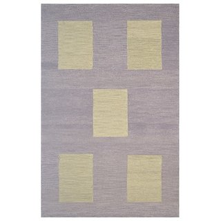 Handmade Wool Modern Brown/ Green 5x8 lt1419 Area Rug Carpet