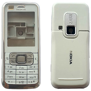 7646ee94324f0 Buy Nokia 6120 Classic Full Housing Body Panel - White Online @ ₹299 from  ShopClues
