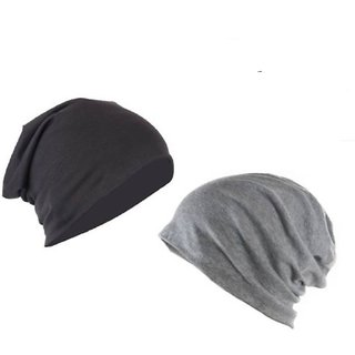 002a13b1013 Buy COMBO Beanies Slouchy Cotton Cap (Pack of 2) Online - Get 56% Off