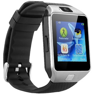 645968dab5cd Buy Dz09 Black Bluetooth Smartwatch With Sim Sd Card Support Online - Get 60%  Off