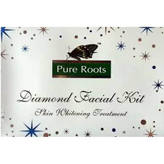 Pure Roots Diamond Facial Kit 100gm