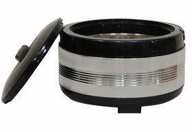 3200 ml Silver Stainless Steel Casserole
