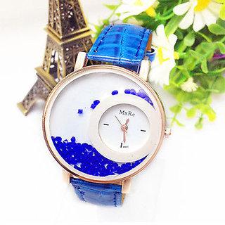 Mxre Blue Analog Watch